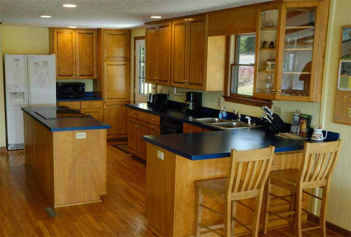 Large kitchen at the Main House