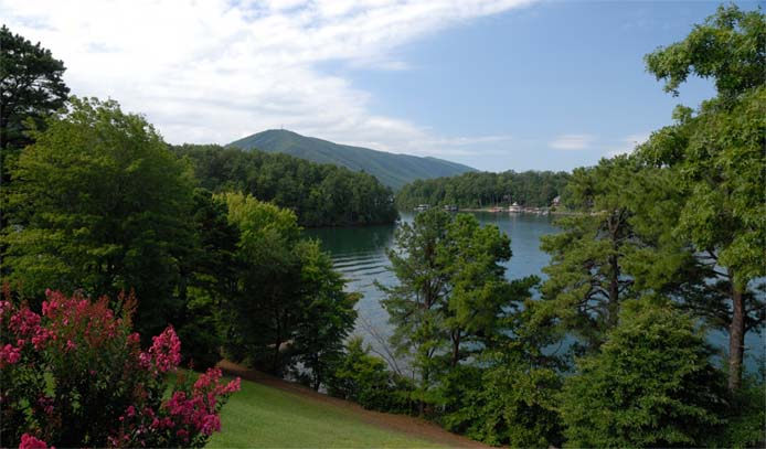 Summer on Smith Mountain Lake